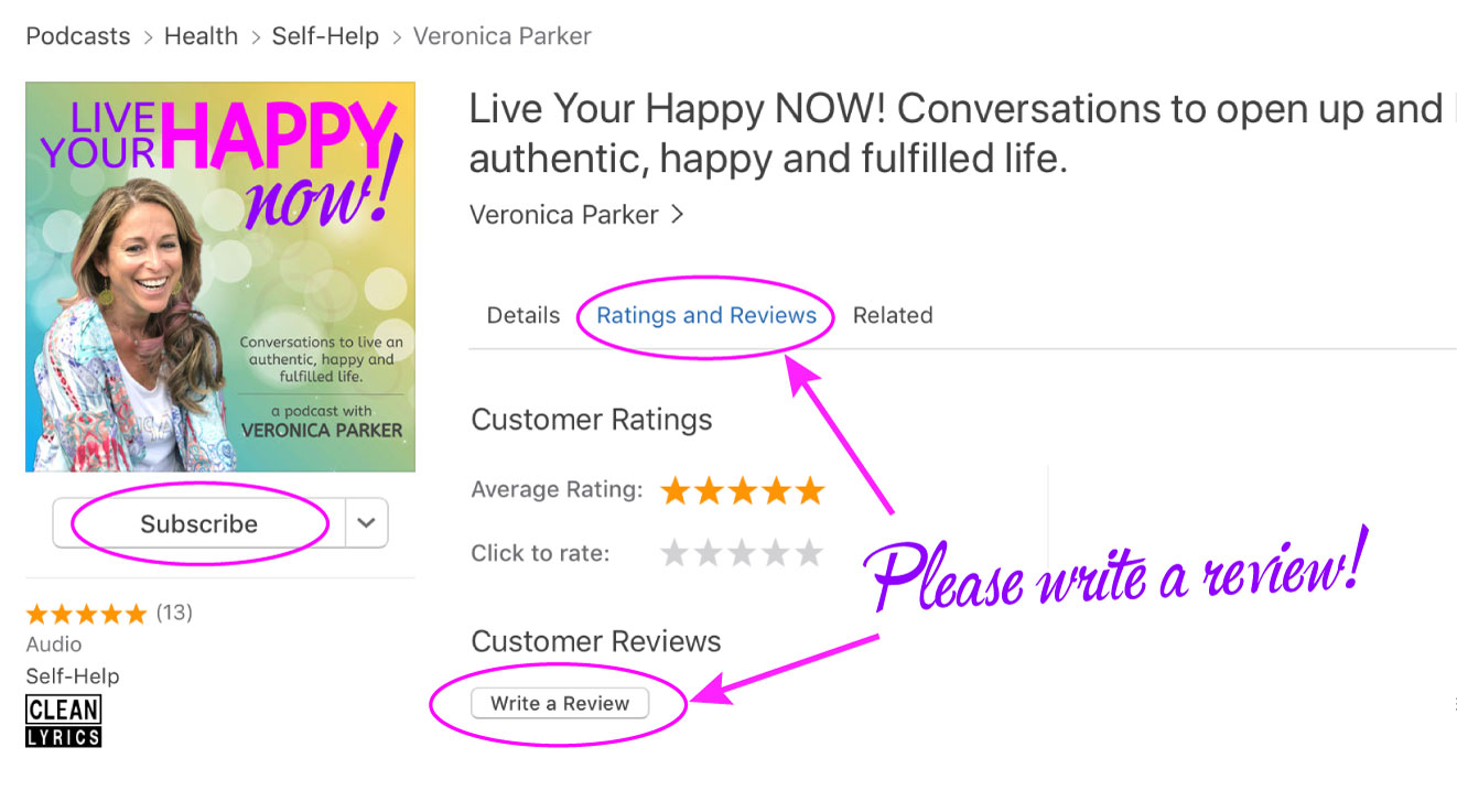 Review Live Your Happy NOW!
